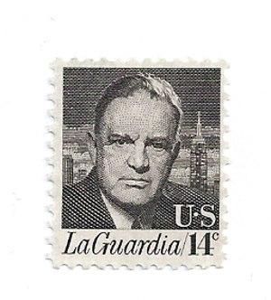 Fiorello La Guardia Stamp