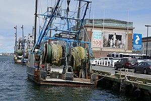 Boston Fish Pier - Image: Fish Pier on the South Boston Waterfront