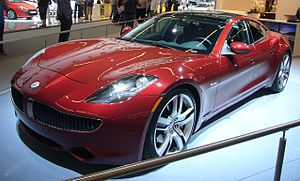 English: Fisker Karma at AutoRAI Amsterdam 2011
