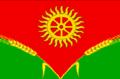 Flag of Dondukovskoe rural settlement (2014).png