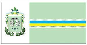 Vyzhnytsia - Image: Flag of Vyzhnytsya Raion
