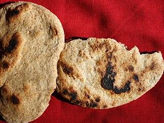 Flatbread type of bread