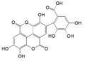 Flavogallonic acid dilactone.png