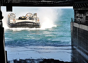 Flickr - Official U.S. Navy Imagery - A Landing Craft approaches the well deck of USS San Antonio. (2).jpg
