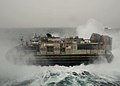 Flickr - Official U.S. Navy Imagery - A landing craft air cushion launches from the well deck..jpg
