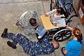 Flickr - Official U.S. Navy Imagery - Officers from Southern Partnership Station 2012 adjust a wheelchair..jpg