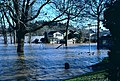 Flooding at south end of Willamette Park - Portland 1996.jpg