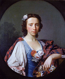 Portrait of Flora Macdonald by the artist Allan Ramsay