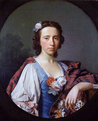 Flora MacDonald - Portrait of Flora MacDonald by Allan Ramsay