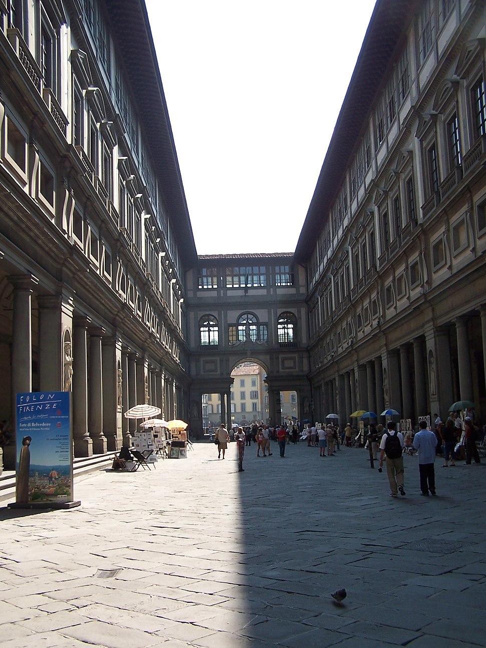 Florenz Uffizien