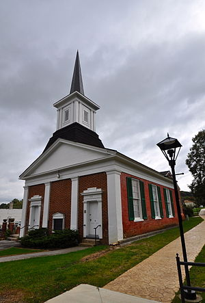 National Register of Historic Places listings in Floyd County, Virginia - Image: Floyd Presbyterian Church