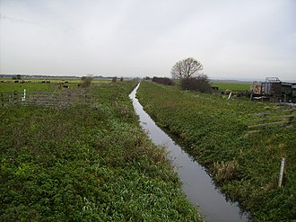 Folkton - Folkton Carr, north of Folkton; as with neighbouring Flixton Carr, once this was fenland and earlier still lay below Lake Pickering