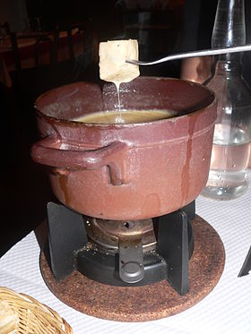 Image illustrative de l'article Fondue savoyarde