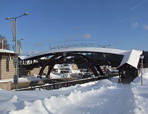 Donovaly - Image: Footbridge in Donovaly
