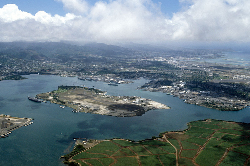 File:Ford Island Pearl Harbor aerial photo 1986.JPEG