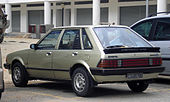 Ford Laser (first generation) (rear), Serdang.jpg