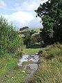 Ford by Cwm-du, near Llanddewi-Brefi, Ceredigion - geograph.org.uk - 565252.jpg