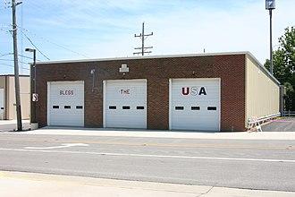 Forreston, Illinois - Image: Forreston, IL Fire Dept 01