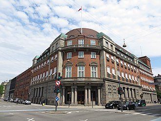 Ministry of Defence (Denmark) - Ministry of Defence headquarters since 2017