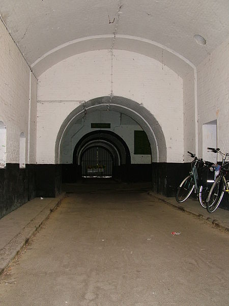 Picture from within fortress 2 of Wommelgem, one of the Brialmont Fortresses around Antwerp.