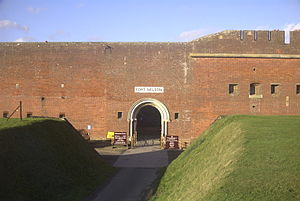 Fort Nelson, Hampshire - The entrance to Fort Nelson