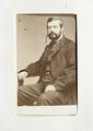 Fotografiporträtt på Bernhard Schlegel, 1800-talets mitt - Hallwylska museet - 107602.tif