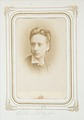 Fotografiporträtt på Odile Schlegel - Hallwylska museet - 107821.tif