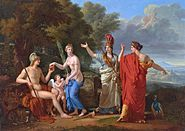 François-Xavier Fabre - The Judgment of Paris