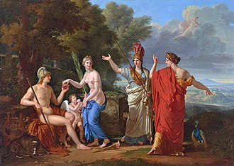 1808 in art - Image: François Xavier Fabre The Judgment of Paris