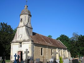 The church in Canteloup