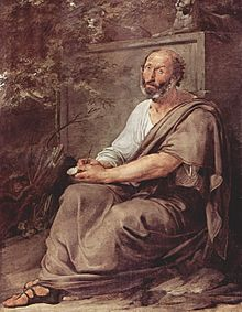 Aristoteles, gemalt von Francesco Hayez (Quelle: Wikimedia)
