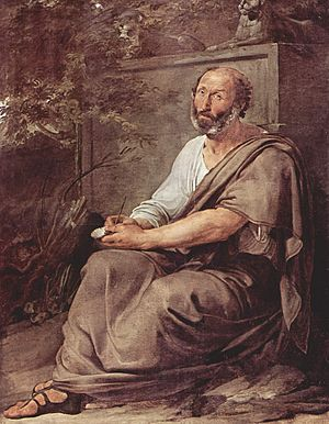Aristotle - Aristotle by Francesco Hayez (1791–1882)