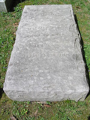 Francis Pharcellus Church - The monument of Francis Pharcellus Church in Sleepy Hollow Cemetery