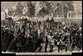 Franco-Prussian War; the wounded entering Paris after the Ba Wellcome V0015455.jpg