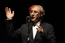 Battiato, performing at the Festival Gaber [it], 2010