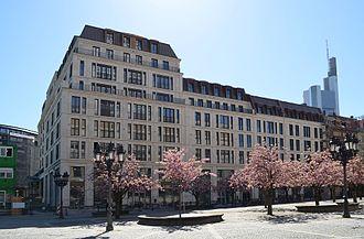 Sofitel - Image: Frankfurt, Opernplatz, künftiges Sofitel Hotel