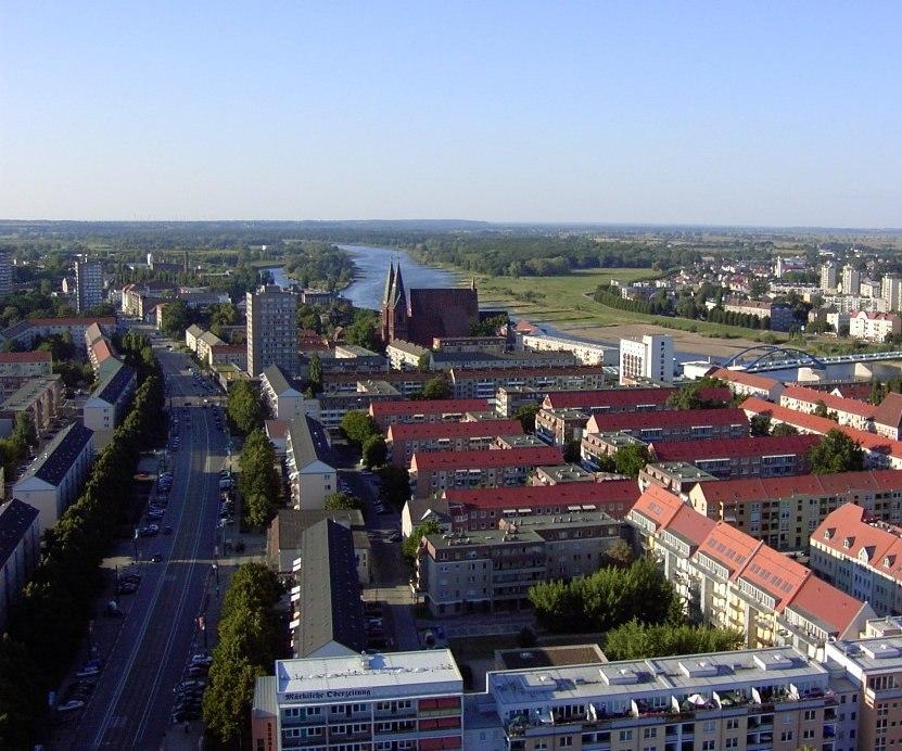 Frankfurt Oder oben