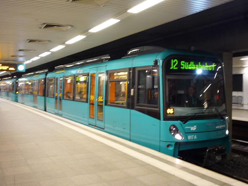 Dicas de transporte público em Frankfurt