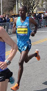 Franklin Chepkwony Kenyan long-distance runner