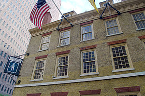 Fraunces Tavern - West front of Fraunces Tavern on Broad Street