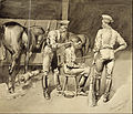Frederic Remington - A Haircut in a Cavalry Stable - Google Art Project.jpg