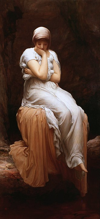 Solitude - Solitude by Frederic Leighton