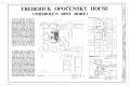 Frederick Opocensky House, Sixth Avenue and Maple Street, Niobrara, Knox County, NE HABS NEB,54-NIOB,8- (sheet 1 of 4).png