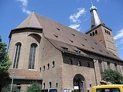 Friedenskirche Adam-Kraft-Straße Palmplatz St. Johannis 08.JPG
