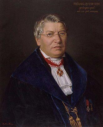 Eisleben - Friedrich August von Quenstedt in 1868