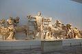 Frontó oest del temple de Zeus, museu arqueològic d'Olímpia.JPG