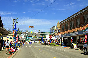 Poulsbo, Washington - Front Street Northeast