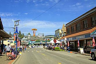 Poulsbo, Washington - Front Street Northeast