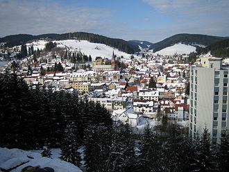 Furtwangen im Schwarzwald - Image: Furtwangen Feb 05 GHB