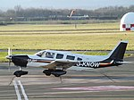 G-KNOW Piper Cherokee Six 32 (Private Owner) (45940629485).jpg
